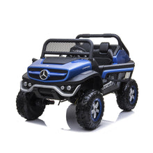 Load image into Gallery viewer, Mercedes Benz Unimog Ride on Car Ride On Cars FREDDO Blue