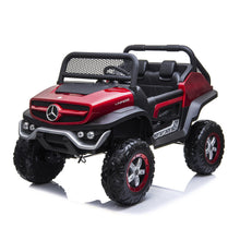 Load image into Gallery viewer, Mercedes Benz Unimog Ride on Car Ride On Cars FREDDO Red