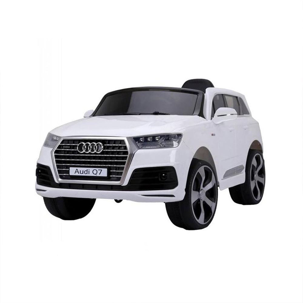 Audi Q7 Ride On Car White Ride On Cars FREDDO