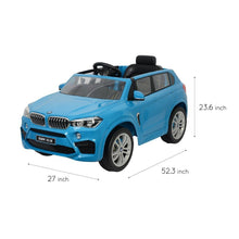 Load image into Gallery viewer, BMW X5 Ride on Car Blue Ride On Cars FREDDO