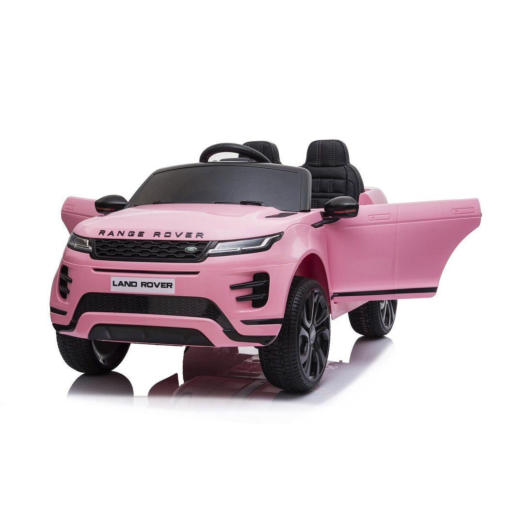 Land Rover Evoque Ride on Car Pink Ride On Cars FREDDO