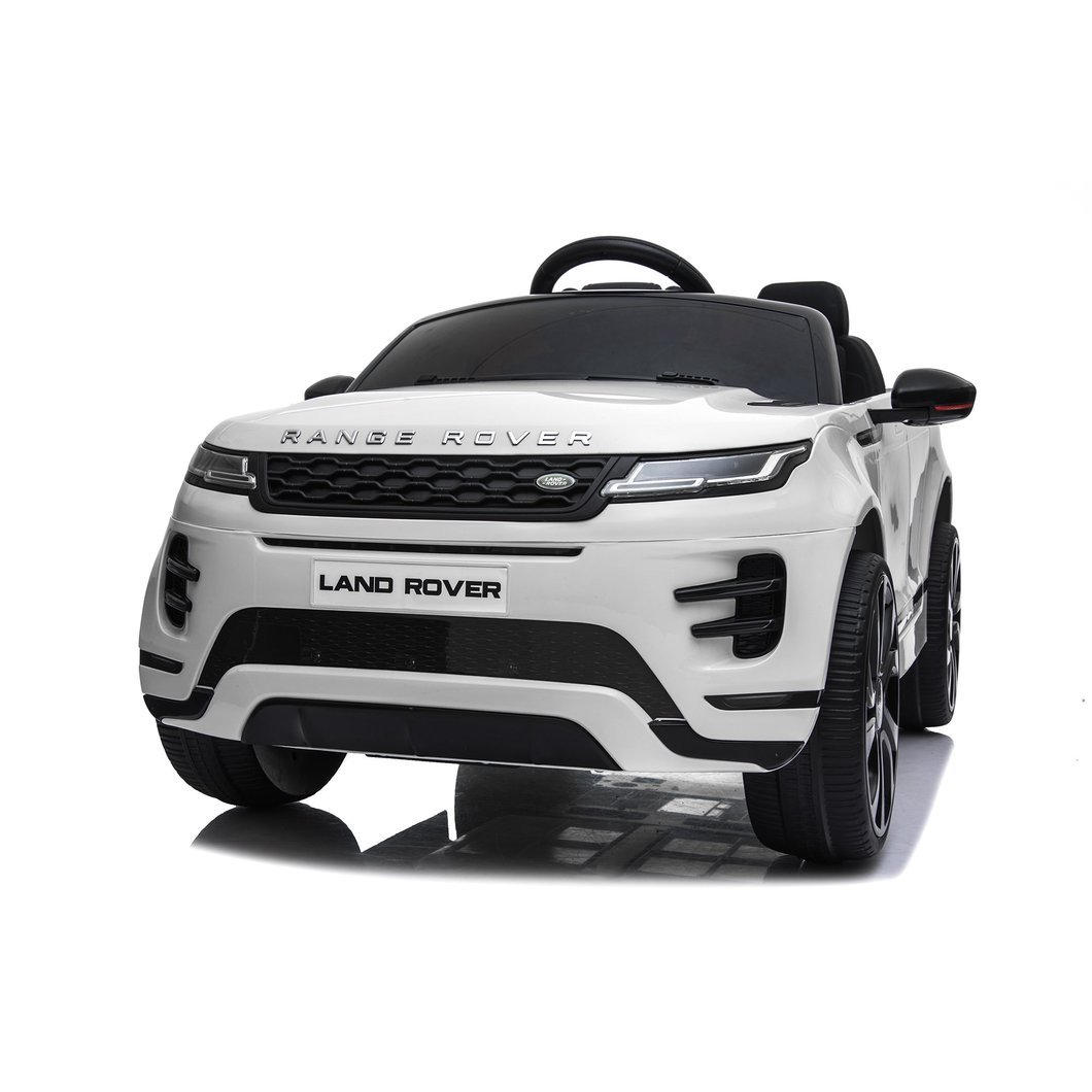 Land Rover Evoque Ride on Car White Ride On Cars FREDDO