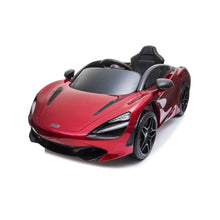 Load image into Gallery viewer, McLaren 720S Ride on car Red Ride On Cars FREDDO