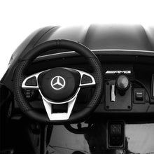 Load image into Gallery viewer, Mercedes Benz AMG GTR Ride on Car (2 Seater) Black Ride On Cars FREDDO