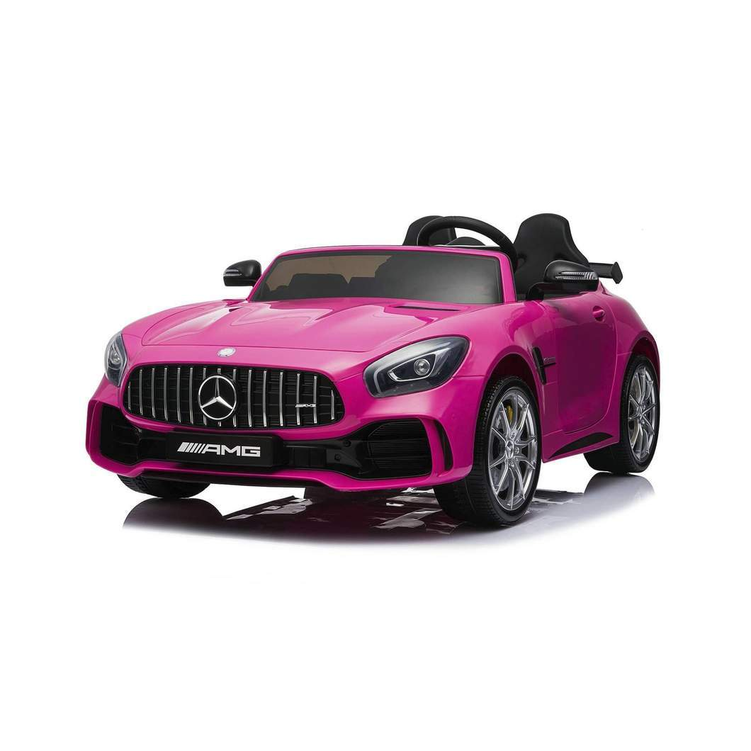 Mercedes Benz AMG GTR Ride on Car (2 Seater) Pink Ride On Cars FREDDO