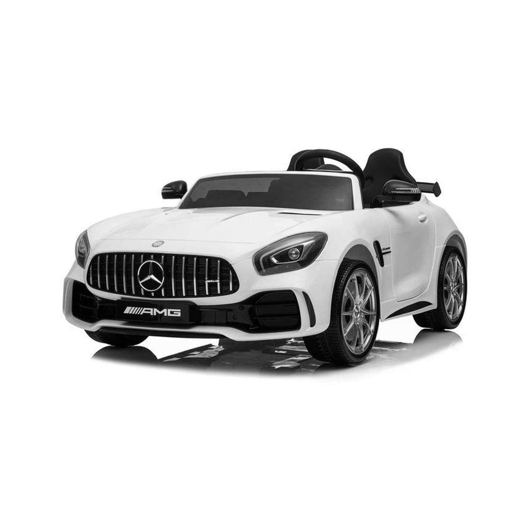 Mercedes Benz AMG GTR Ride on Car (2 Seater) White Ride On Cars FREDDO