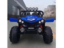 Load image into Gallery viewer, UTV JEEP STYLE VERY LARGE 2 SEATER 4 MOTORS (4x4) WITH REMOTE CONTROL Blue Ride On Cars FREDDO