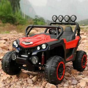 Utv Style Very Large 2 Seater 4 Motors (4x4) With Remote Control Red ***PRE ORDER ONLY*** Ship date around June 15th 2021 Ride On Cars FREDDO