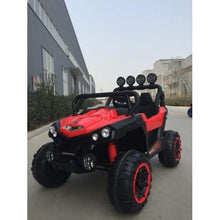 Load image into Gallery viewer, Utv Style Very Large 2 Seater 4 Motors (4x4) With Remote Control Red ***PRE ORDER ONLY*** Ship date around June 15th 2021 Ride On Cars FREDDO