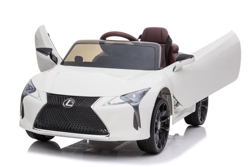 Lexus LC 500 12v Kids Ride On Car With Remote Control Deluxe Model Ride On Cars FREDDO