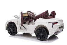 Load image into Gallery viewer, Lexus LC 500 12v Kids Ride On Car With Remote Control Deluxe Model Ride On Cars FREDDO