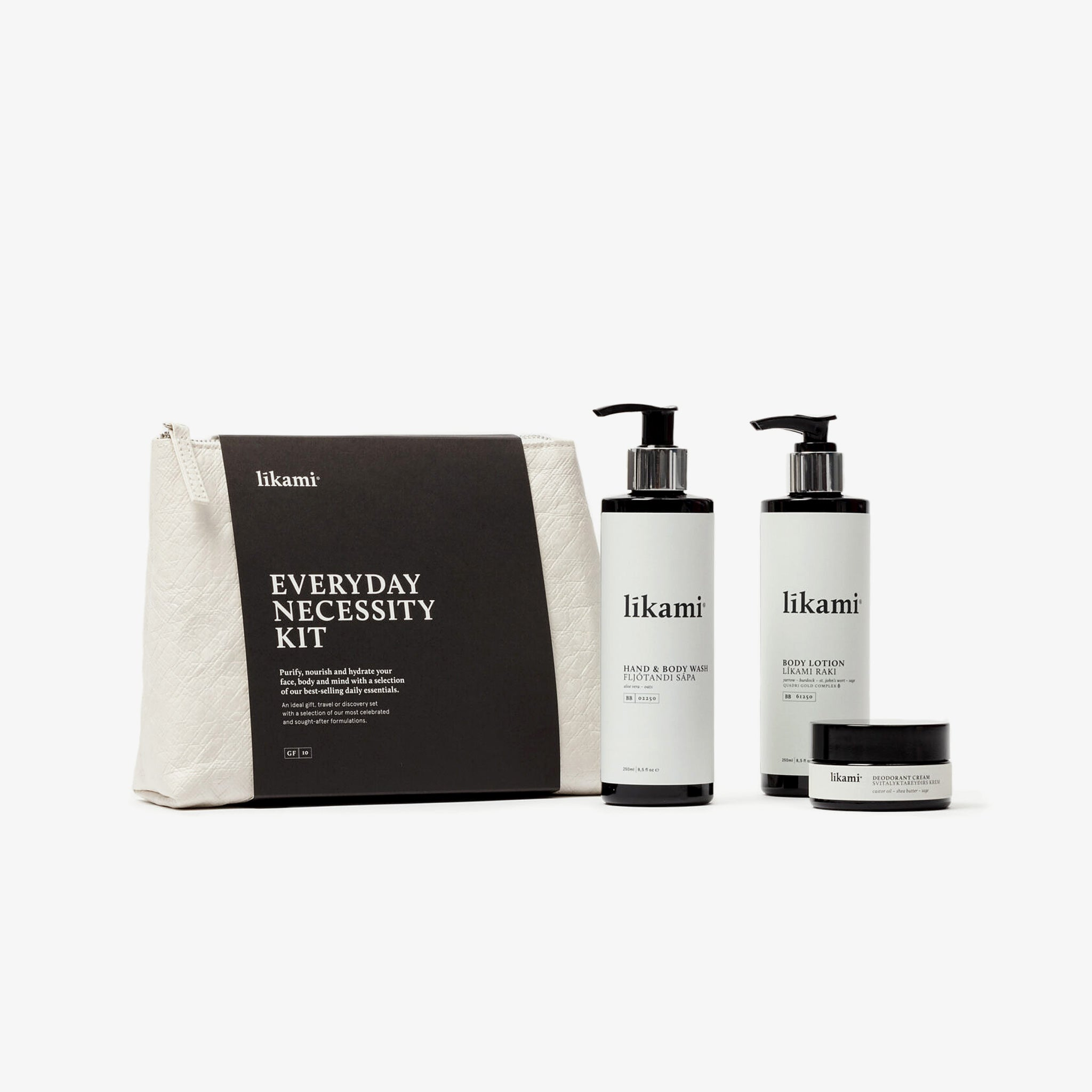 Likami Schweiz Kit Body Wash Body Lotion Hand Cream