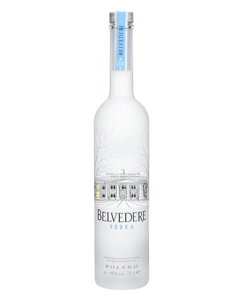 BELVEDERE VODKA 70CL - Beers On Route