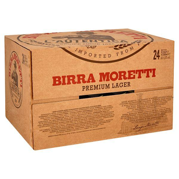 MORETTI BEERS X 24 - @BeersOnRoute