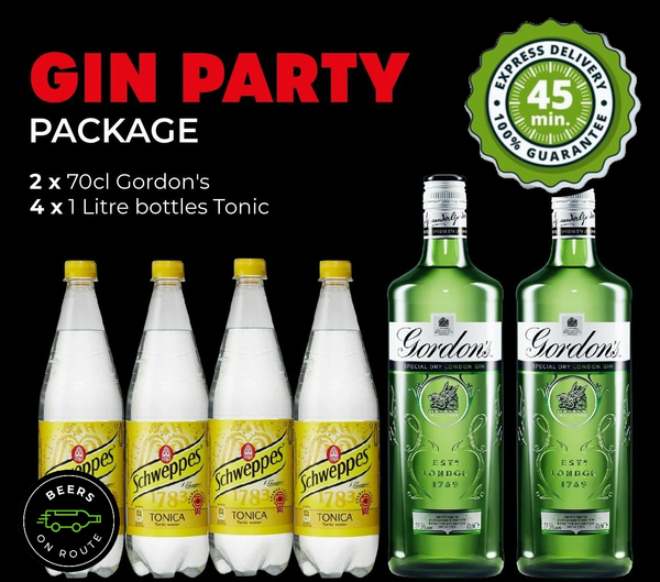 Gin Party Package