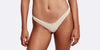 Cavallo Terry cloth high cut brief tan front