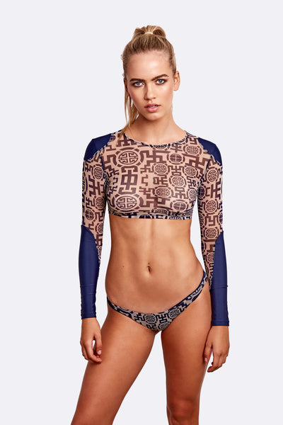 Naxos Mesh Yachting Top