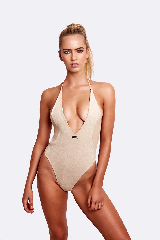 Santa Maria terry one piece -  AVAILABLE NOW