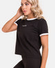 Work Out Clothes | Milford Tee | Zingiber Australian Designer Activewear Label  #activewear #workoutclothes #blacktee