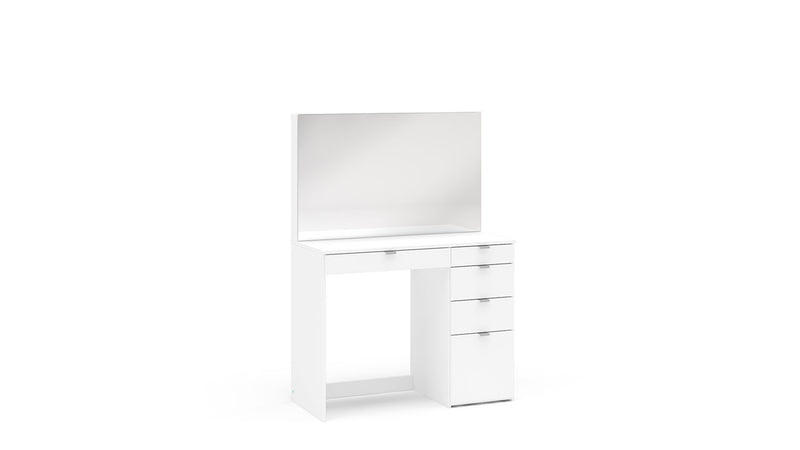 Madison 5 Drawer Dressing Table White