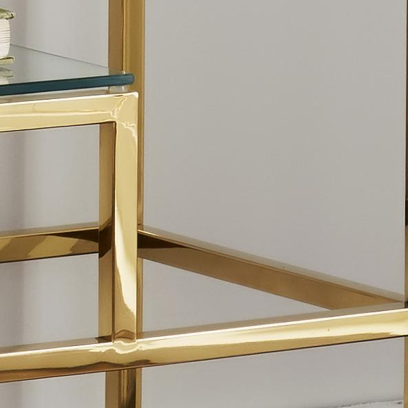 Elmley Gold Display Console Table