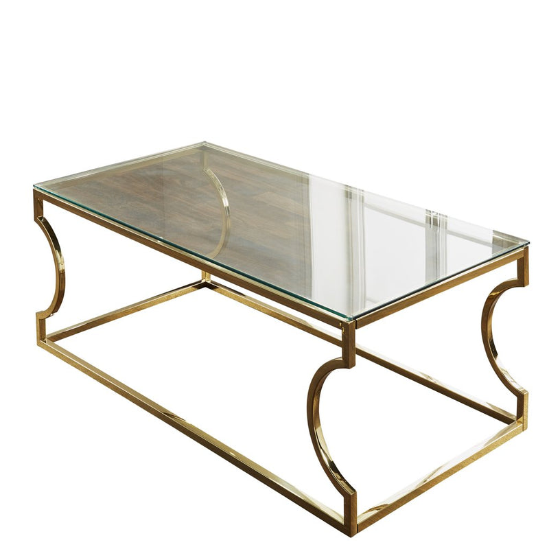 Ely Gold Coffee Table