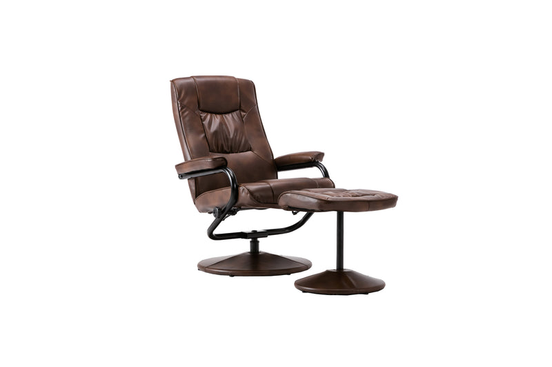 Manhattan Swivel Chair & Footstool