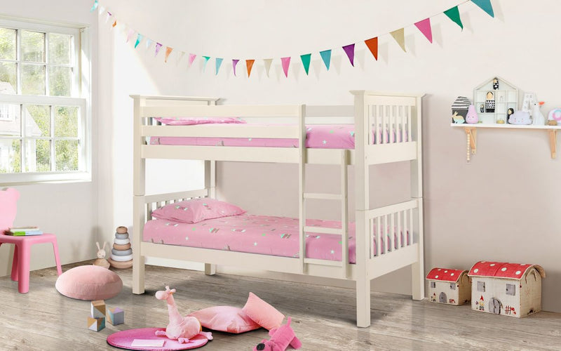 Cebu Bunk Bed Stone White