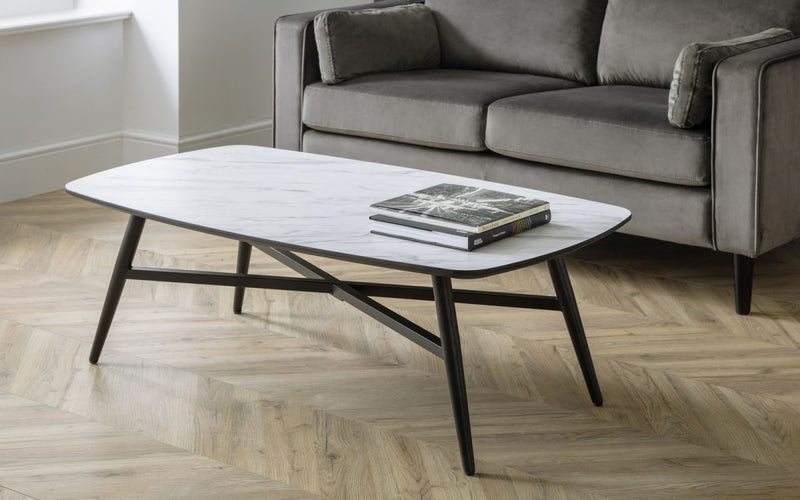 Cyrus Marble Effect Coffee Table