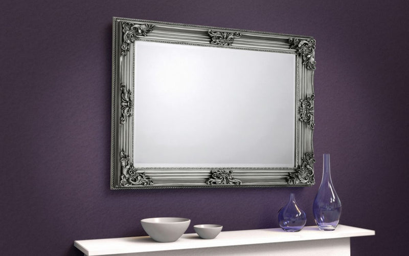 Rocko Pewter Wall Mirror