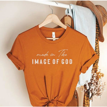 Made in The Image of God Graphic Tshirt