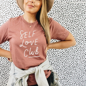 Self Love Club Graphic T-shirt