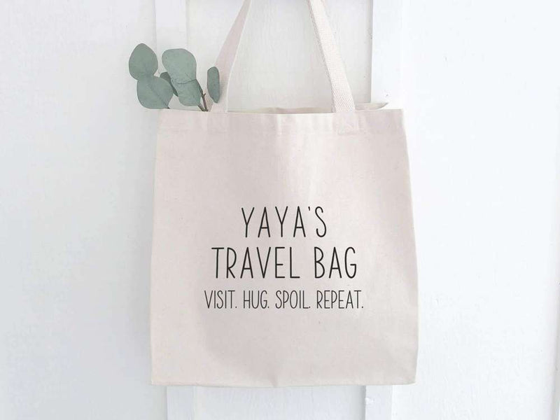 Yaya's Travel Bag - Canvas Tote Bag