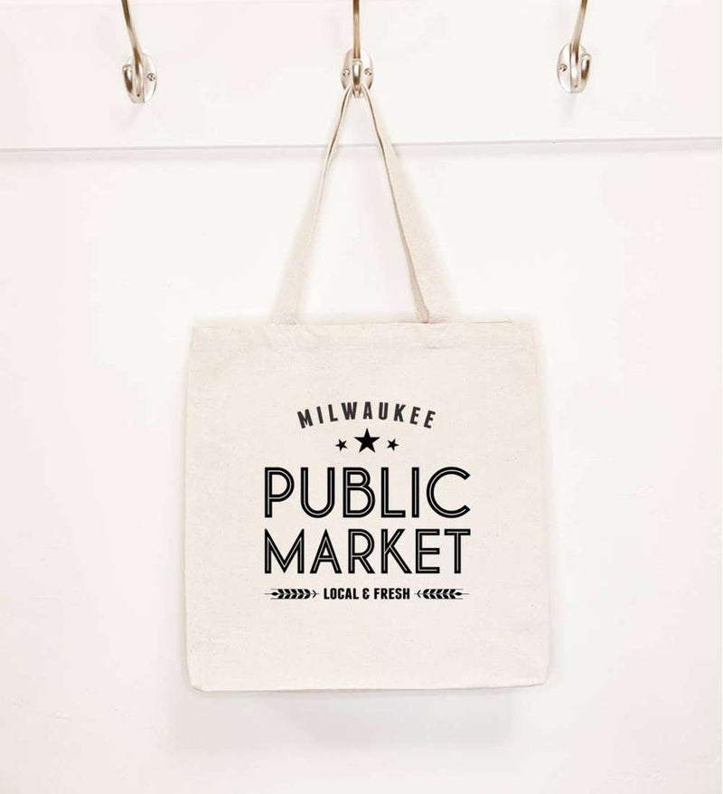 Customizable Public Market - Canvas Tote Bag