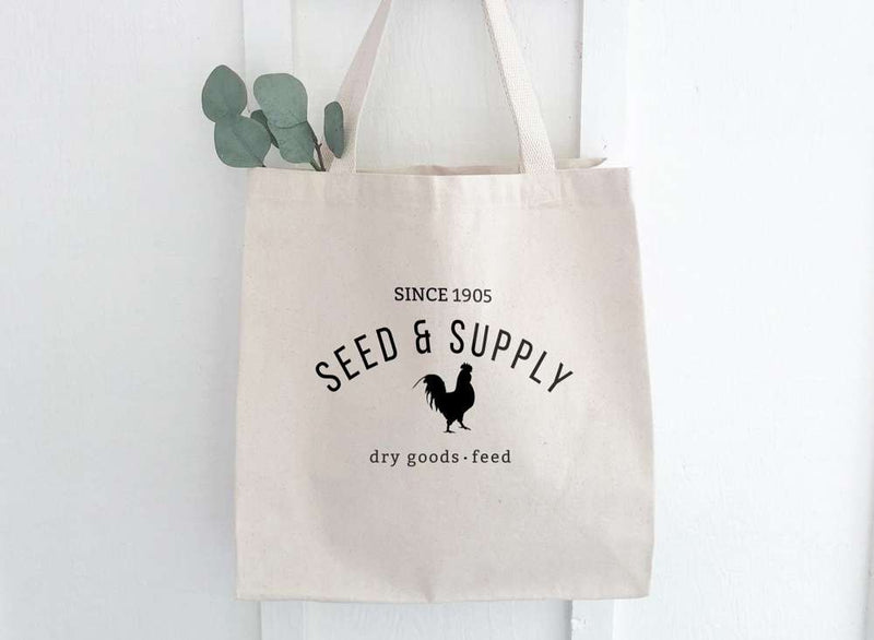 Seed & Supply - Canvas Tote Bag