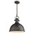 Emliviar hanging lights Farmhouse Ceiling Pendant Light, Oil Rubbed Bronze,14 inch