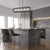 Emliviar Kitchen island lights Kitchen Island Lighting Domestic Linear Pendant Light Fixture with Glass Shade