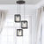 Emliviar Modern chandeliers Cluster Pendant Lights Industrial Kitchen Island Lighting Fixture