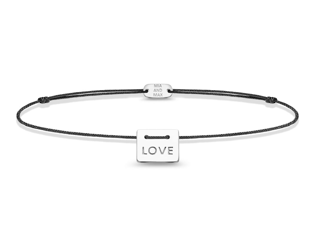 The LOVE Bracelet | Sterling Silver