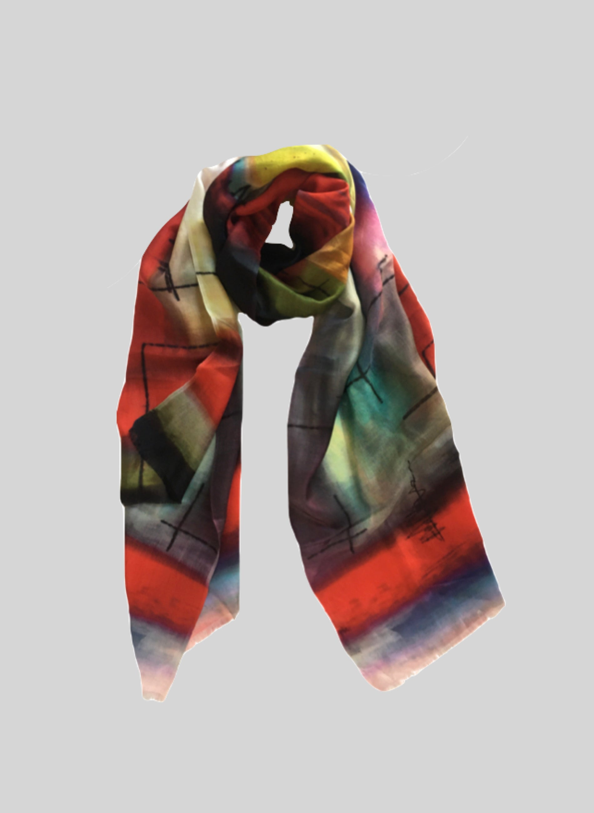 HAMPTON Pure Silk Scarf