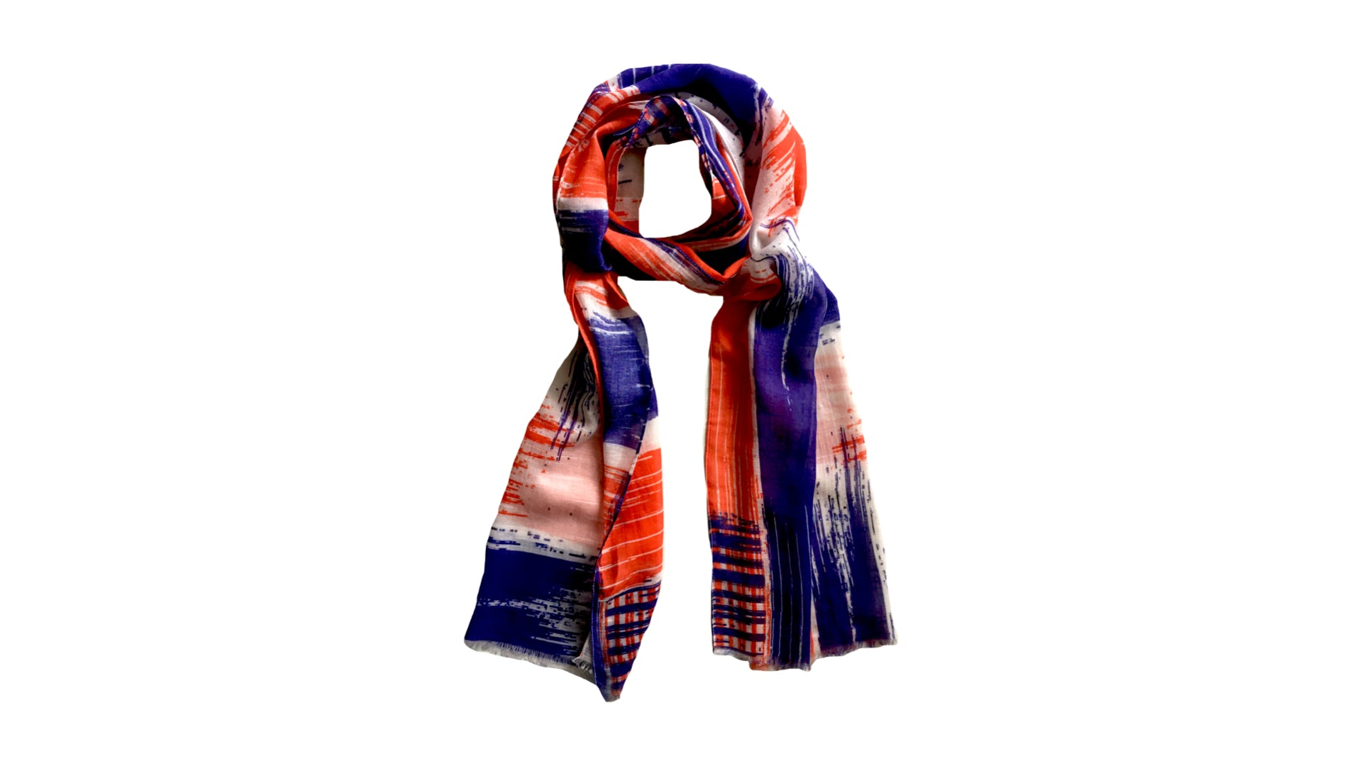 AELIN Skinny Cotton Scarf/Stole