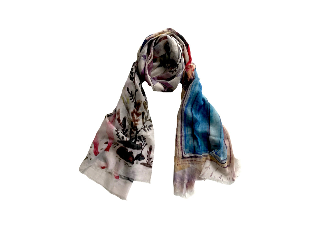 Village Pure Cotton Scarf