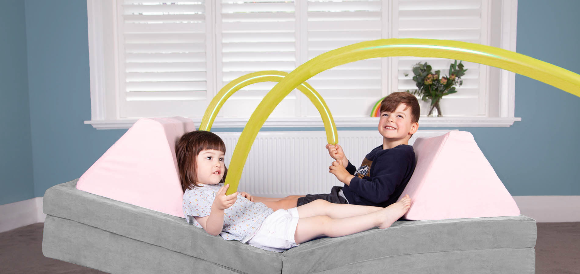 Relax in comfort after creating limitless possibilities with the ultimate Australian Made Play Sofa and pillows by Funsquare. The best kids furniture and couch for your home! Great for creative, interactive and open ended play.