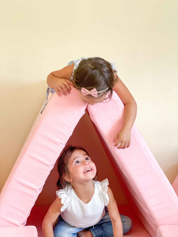 Funsquare Play Sofa is the ultimate Kids Furniture! Great for open play and creativity, the options are endless!