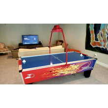 Load image into Gallery viewer, GOLD STANDARD GAMES 8' GOLD PRO PLUS AIR HOCKEY TABLE