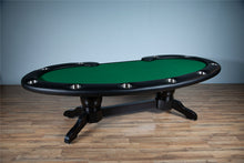 Load image into Gallery viewer, BBO Poker Tables Prestige X Poker Table 10 Person and Dealer