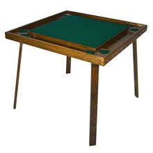 "Load image into Gallery viewer, kestell 35"" OAK GAME/CARD TABLE COMBO"