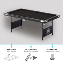 Load image into Gallery viewer, Fat Cat Trueshot 6' Folding Billiard Table