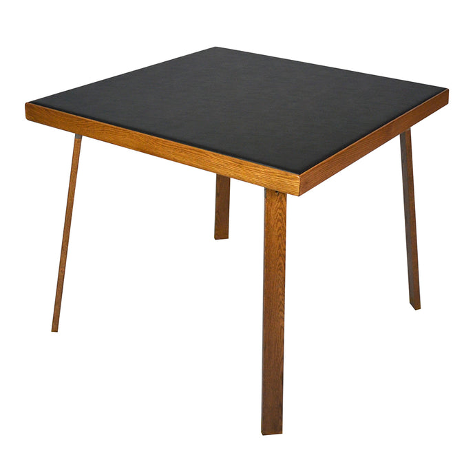 KESTELL OAK FOLDING CARD TABLE