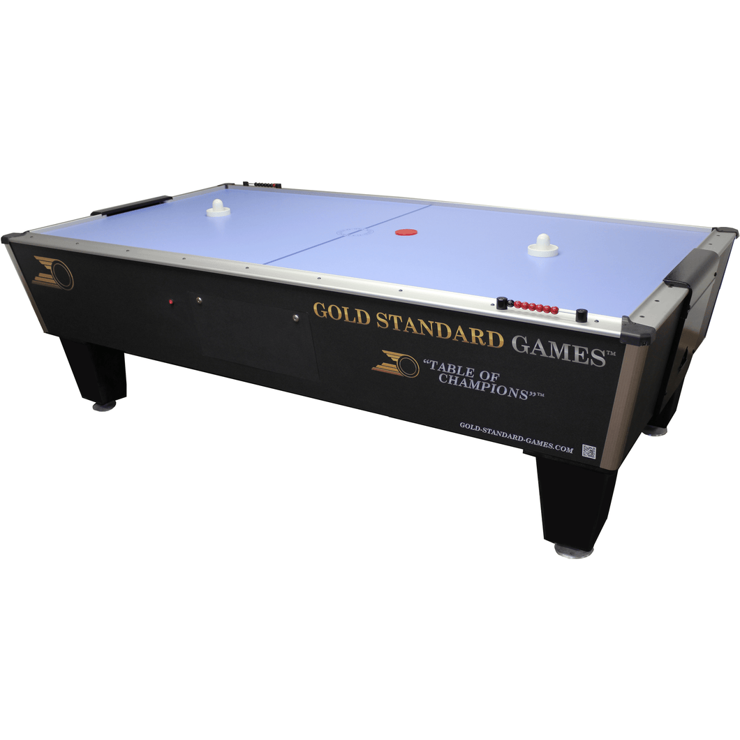 GOLD STANDARD GAMES 8' TOURNAMENT ICE AIR HOCKEY TABLE